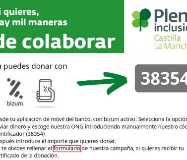 Campaña de donación para material de protección