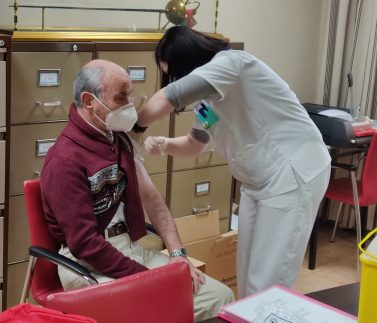 Vacunación COVID Residencia