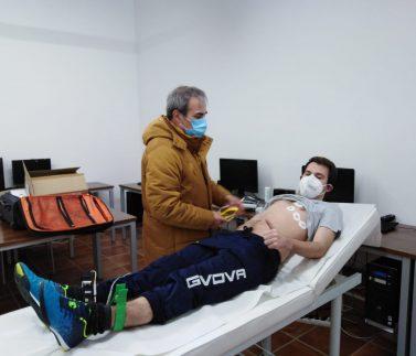 Reconocimiento médico deportista